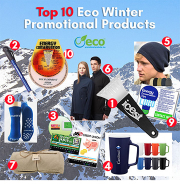 Top 10 Promotional Products for Winter