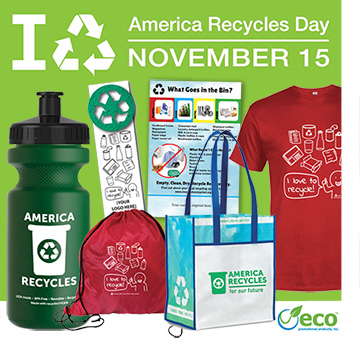 The Best America Recycles Day Promotional Products and Giveaways
