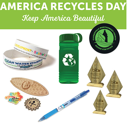 The Best America Recycles Day 2019 Promotional Products and Giveaways