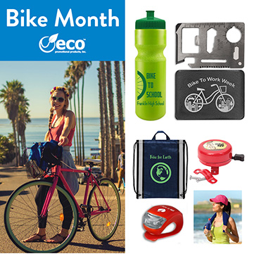 Eco-Friendly Promotional Products | National Bike Month 2019