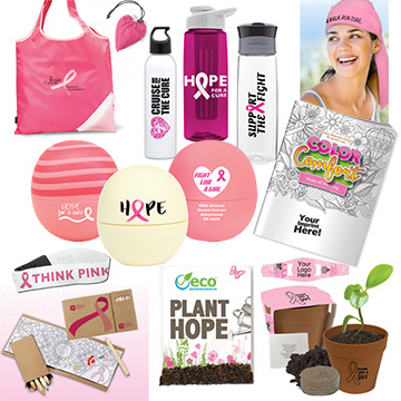The Best Promotional Products for Breast Cancer Awareness Month 2018
