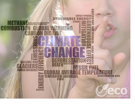 The Fight Against Climate Change and the Promotional Products that can Help Show Your Commitment to the Cause