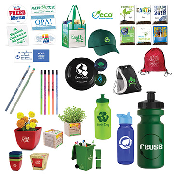promotional products and giveaways for 2018 earth day events eco