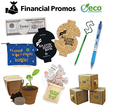 Eco Friendly Finance Themed Promotions