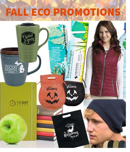Eco Friendly Promotional Products for Fall