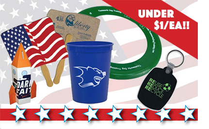 Promotional Products for the 4th of July and Other Summer Events