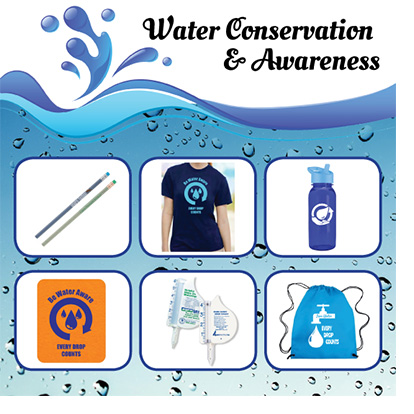 Promotional Products for Water Conservation Programs