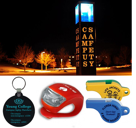 Eco-Friendly Promotional Products for Campus Safety Awareness Month