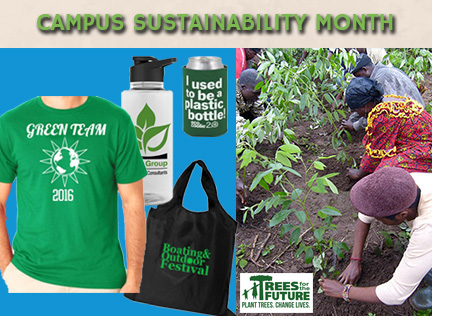 Promotional Products for Campus Sustainability Month