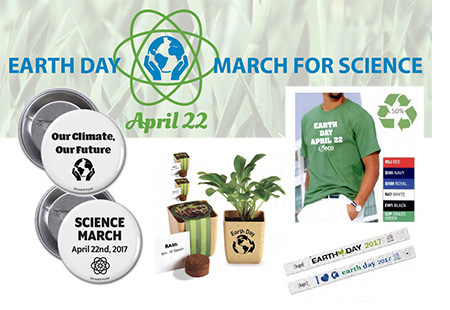The Best Promotional Products for Earth Day 2017 and March for Science