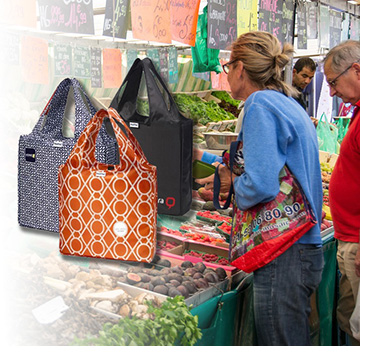 Reusable Bags for Farmers Markets and National Farmers Market Week
