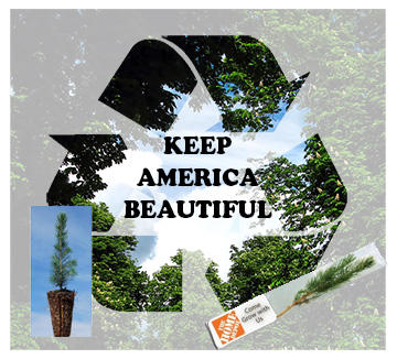 Seeded Promotional Products for Keep America Beautiful Month Events