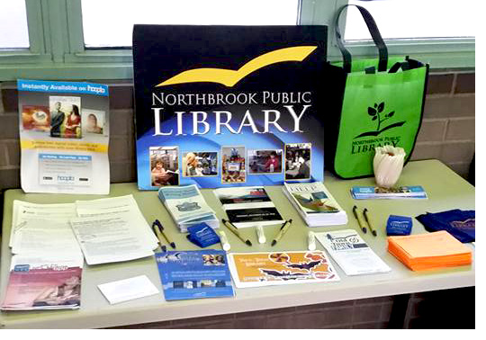 Library giveaways and promotional products