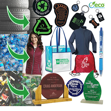 Want to support recycling? Buy more products made from recycled materials.