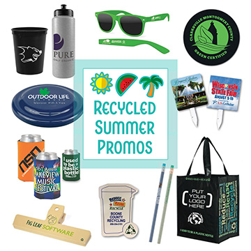 Recycled Promotional Products for Summer Events 2018