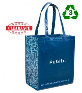 Recycled Promotional Product rPET Shopping Tote Recycled Reusable Bag