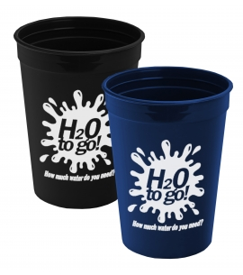 Recycled USA made custom stadium cups wholesale stadium cups