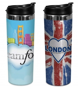 14 oz full color stainless steel tumbler