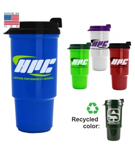 Reusable Travel Mug | Recycled | USA Made |16 oz
