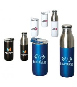 2-in-1 Vacuum Insulated Travel Tumbler