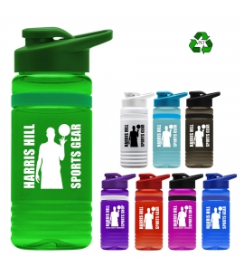 20 oz Recycled Pete Bottle Drink Thru Lid