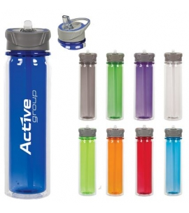 Double Wall Tritan Reusable Water Bottle