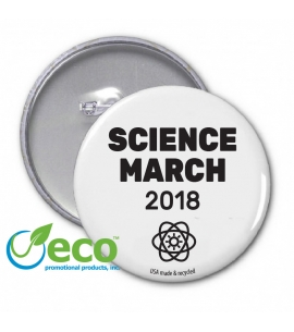 March for Science Button Awareness Buttons Earth Day Buttons March for Science Promotional Products