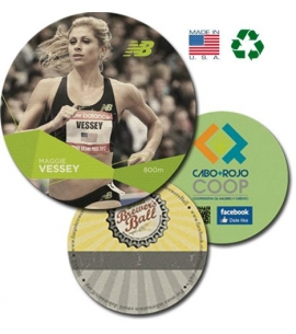 USA made recycled full color coasters