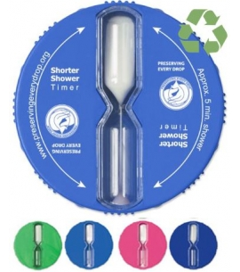 5-Minute Custom Shower Timer | Recycled