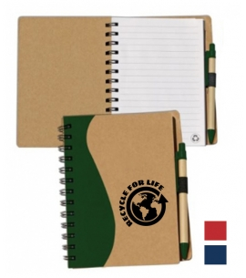 6x7 Recycled Eco Journal Earth Day