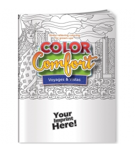 Adult Coloring Books USA Made Eco Friendly Promo