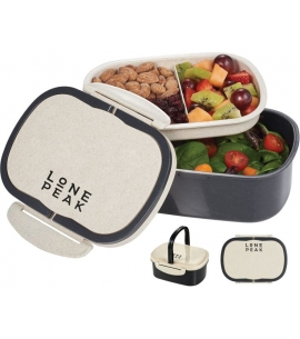 Amazing wheat plastic bento custom lunch container