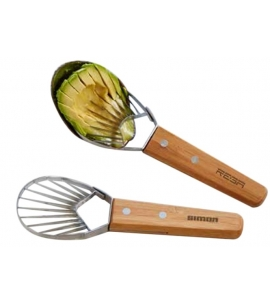 Custom Avocado Slicer | Bamboo