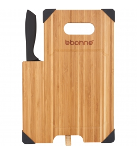 Bamboo Cutting Board with Knife | 13x9
