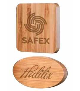 Bamboo Magnets Personalized Magnets Custom Magnet Wholesale Magnets