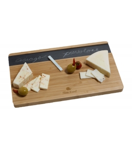 Feast Slate Bamboo Cutting Board