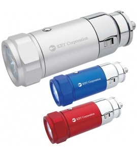 car charging flashlight promotional flashlight