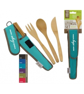 ChicoBag Custom To Go Ware Reusable Utensil Sets