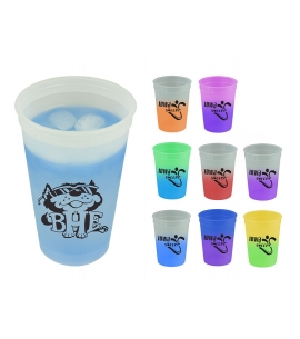 Color Changing Cups Recycled Promotional Products