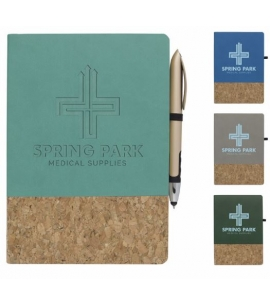 Cork Accent Journal Cork Notebook Eco Friendly Notebooks