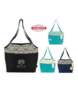 Personalized Cotton Fashion Tote with Tag