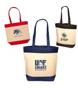 Cotton Panel Tote Bag Promotional Cotton Bag Wholesale Cotton Bag