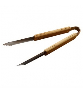 Custom Bamboo BBQ Tongs
