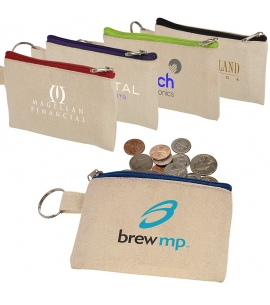 Cotton ID Holder and Coin Pouch