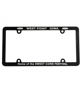 Custom License Plate Frame Recycled Promotional Product USA Made License Plate Frame License Plate Frame Wholesale