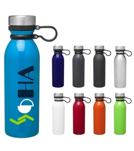 Double wall stainless steel thermal bottle with copper vacuum insulation