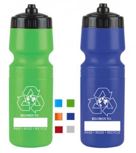Sports Water Bottle Recycled Sports Bottle Recycled Water Bottle Eco Friendly Water Bottle