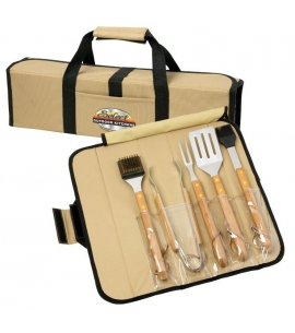Eco Friendly BBQ Gift Set Custom BBQ Gift Set Personalized BBQ Set