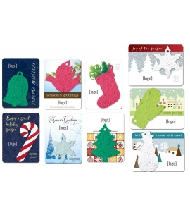 Eco Friendly Holiday Cards Plantable Seed Paper | Mini Gift Pack | USA Made