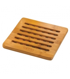 Custom Engraved Bamboo Trivet Promotional Product